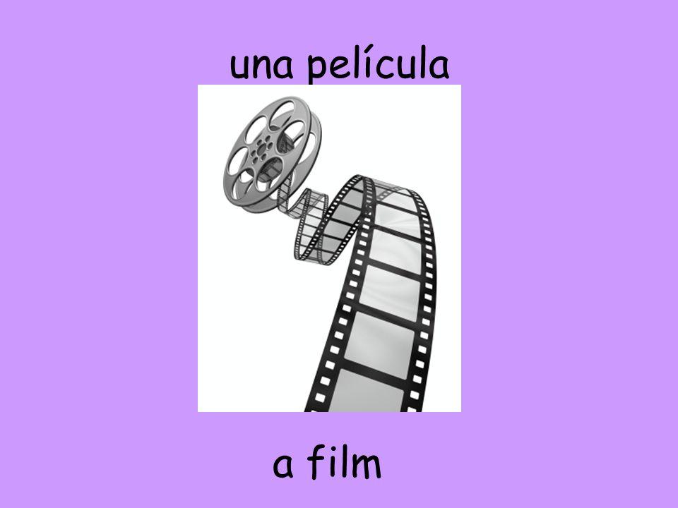 una película a film