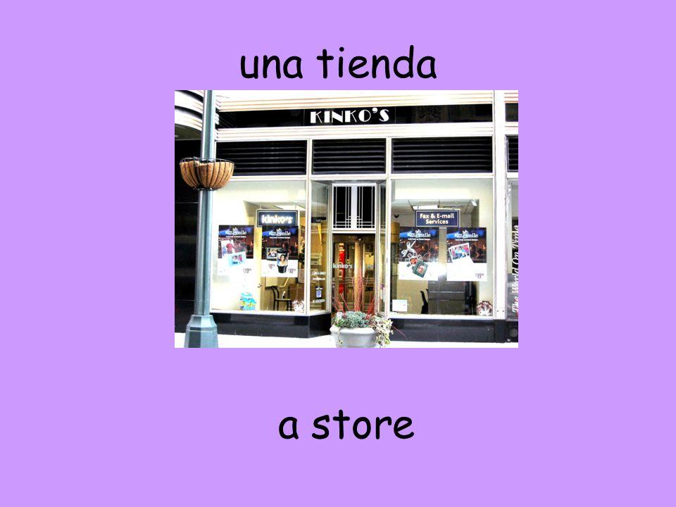 una tienda a store
