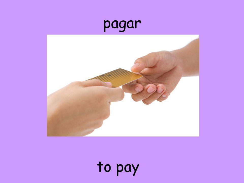pagar to pay