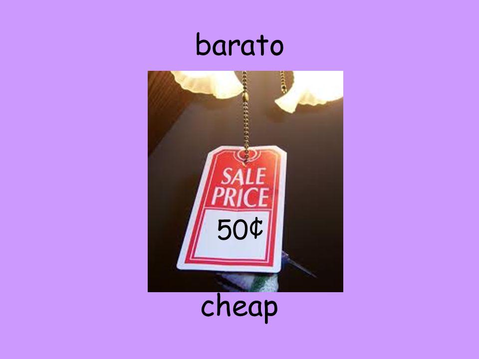 barato cheap 50¢