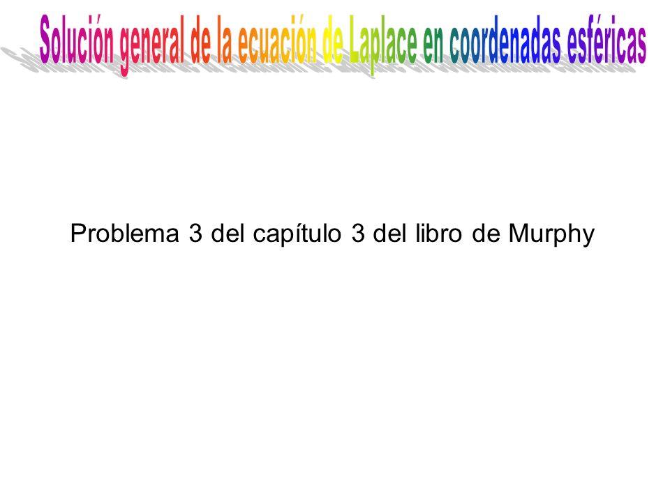 Problema 3 del capítulo 3 del libro de Murphy