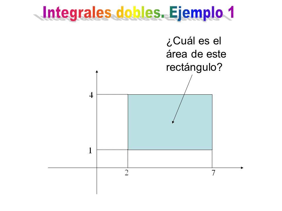 ¿Cuál es el área de este rectángulo?