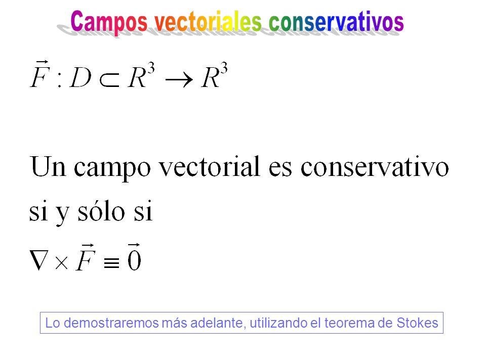 Lo demostraremos más adelante, utilizando el teorema de Stokes