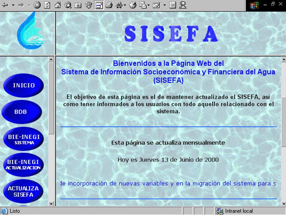 Migración del sistema a hoja web Dado el creciente número de usarios del sistema, y tomando en cuenta el desarrollo informático de la institución, se evalúa la posibilidad de migrar el sistema a la intranet de la institución.