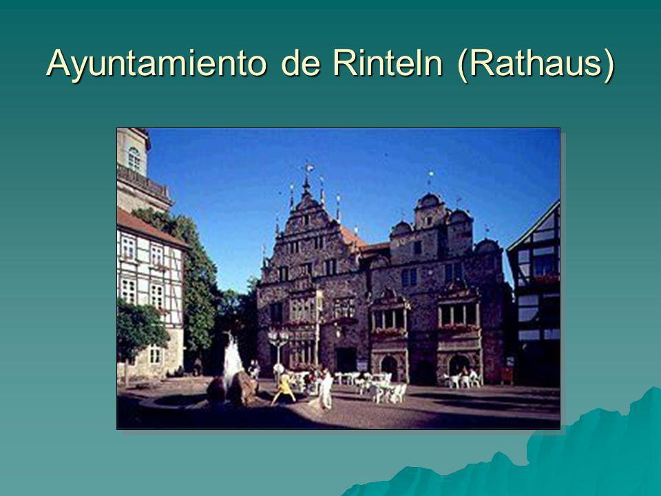 Ayuntamiento de Rinteln (Rathaus)