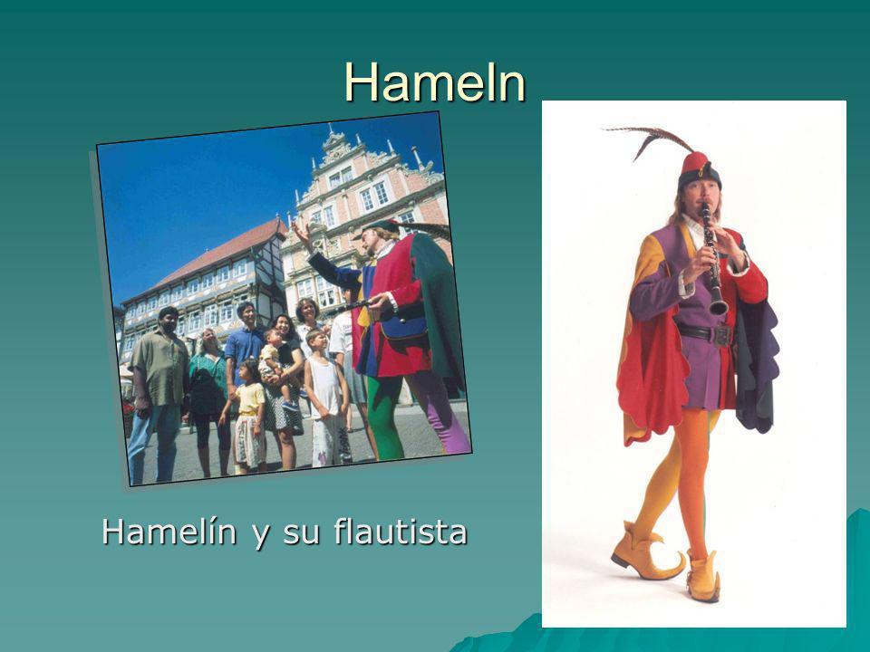 Hameln Hamelín y su flautista Hamelín y su flautista
