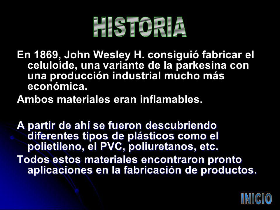 En 1869, John Wesley H.