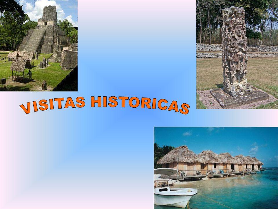 TIKAL Localización: norte Guatemala, en Peten (una zona selvática calurosa) Tiene muchas pirámides Muchas monos y chicharras viven en los árboles de Tikal Una pirámide muy larga, famosa, y mayor es La Gran Plaza La Gran Plaza es 45 metros alta Tiene la tumba de Ah Cacao, el soberano de Tikal
