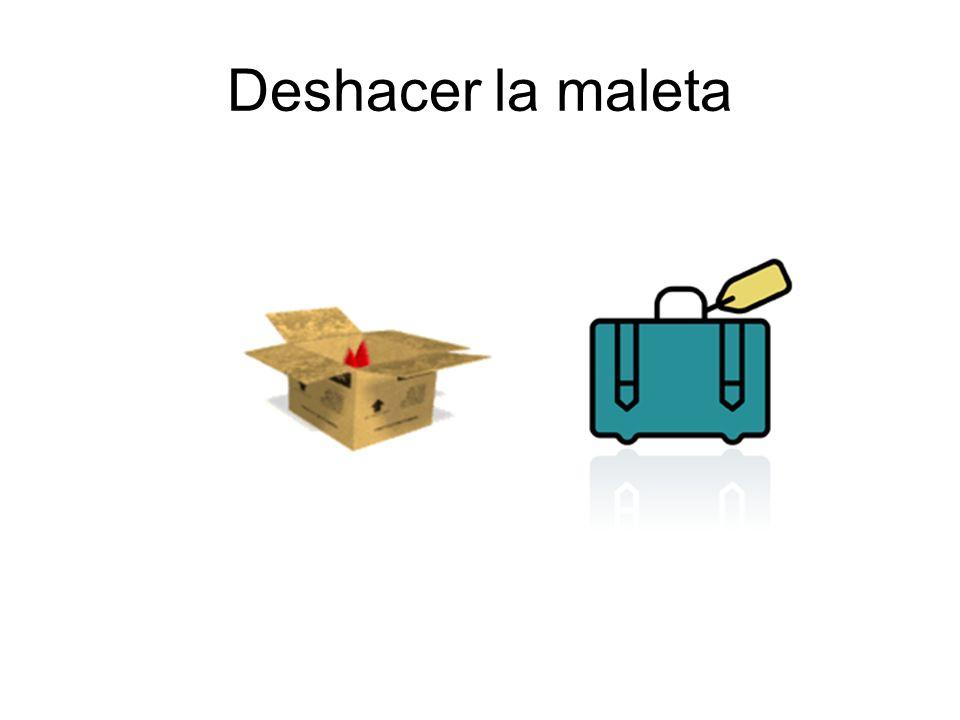 Deshacer la maleta