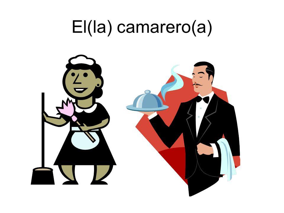 El(la) camarero(a)