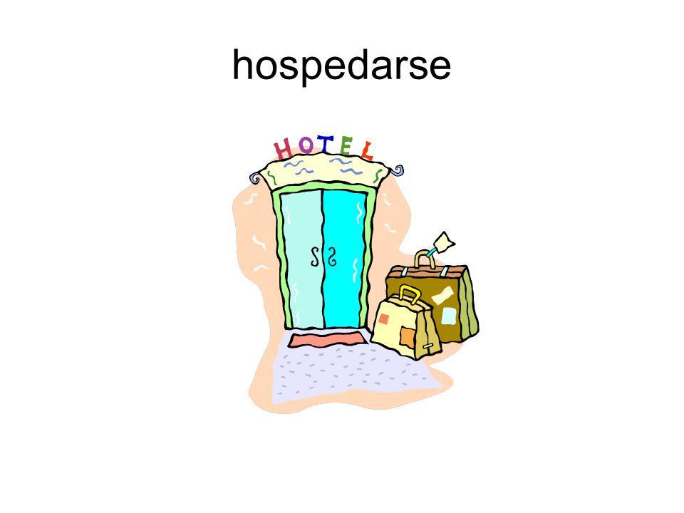 hospedarse