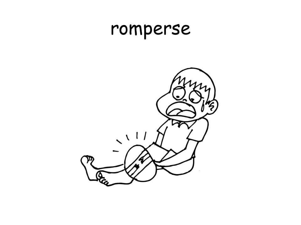 romperse
