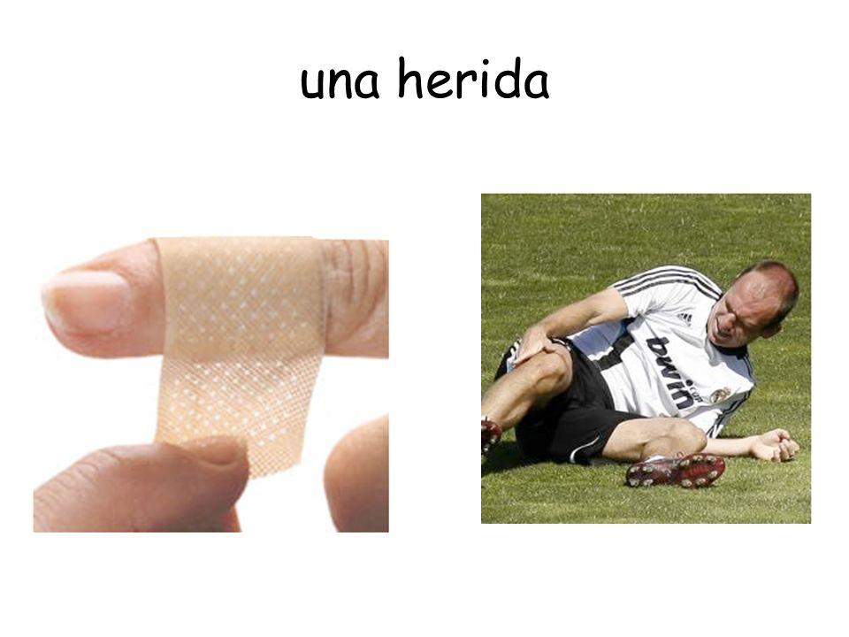 una herida