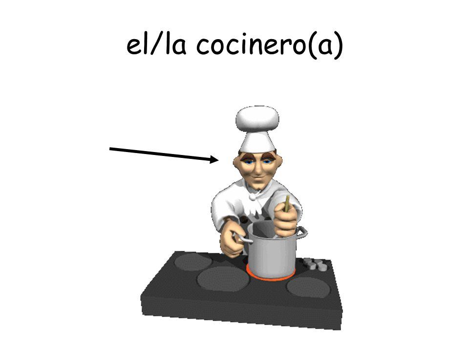 el/la cocinero(a)