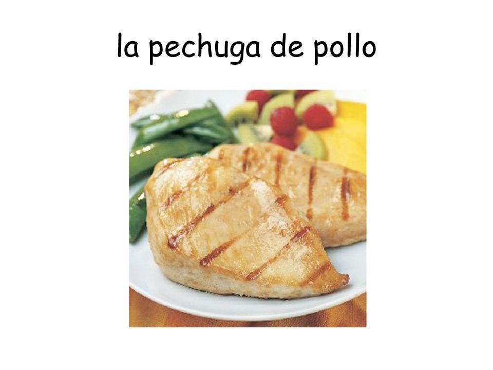 la pechuga de pollo