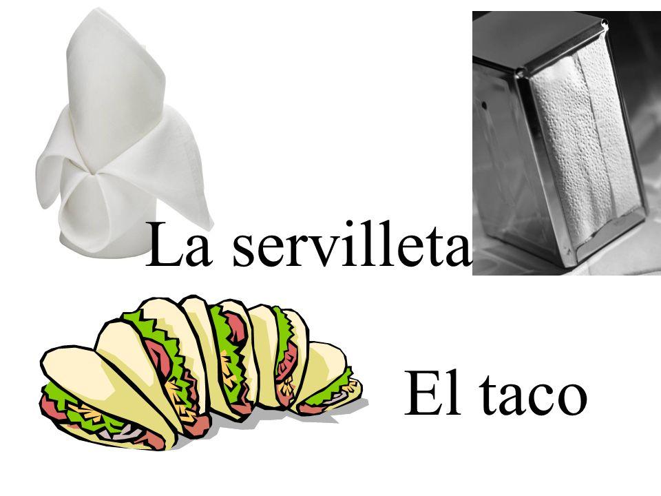 La servilleta El taco