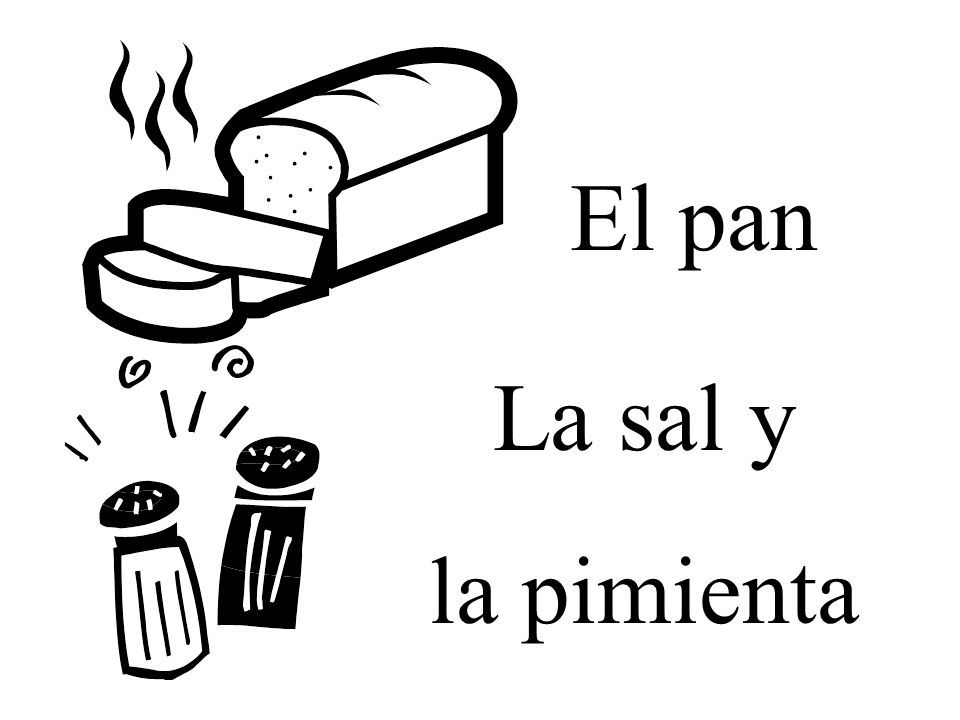 El pan La sal y la pimienta