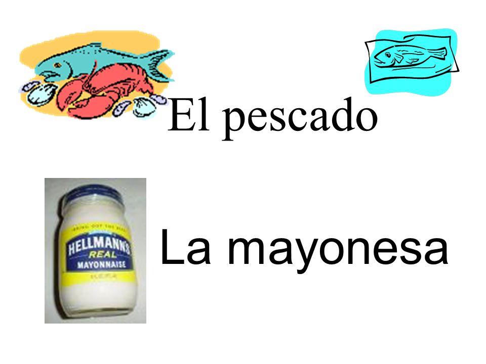 El pescado La mayonesa