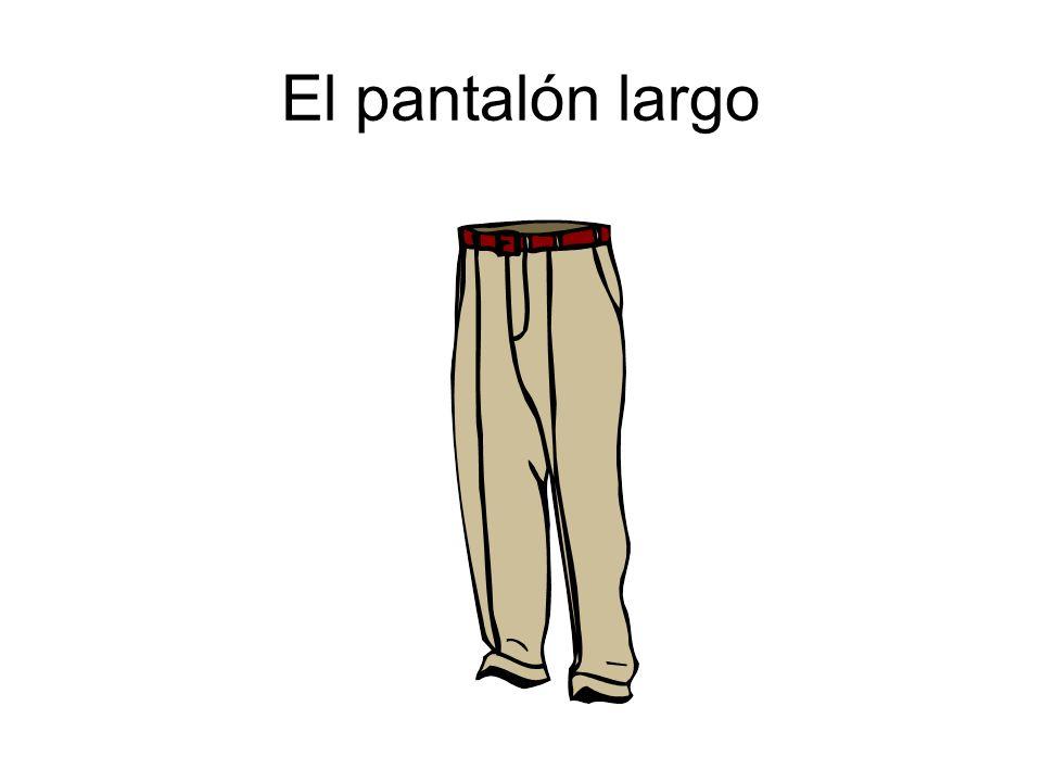 El pantalón largo