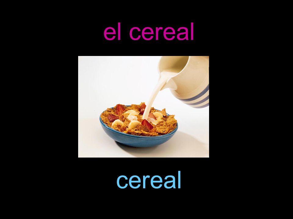 el cereal cereal