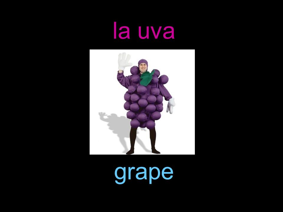 la uva grape