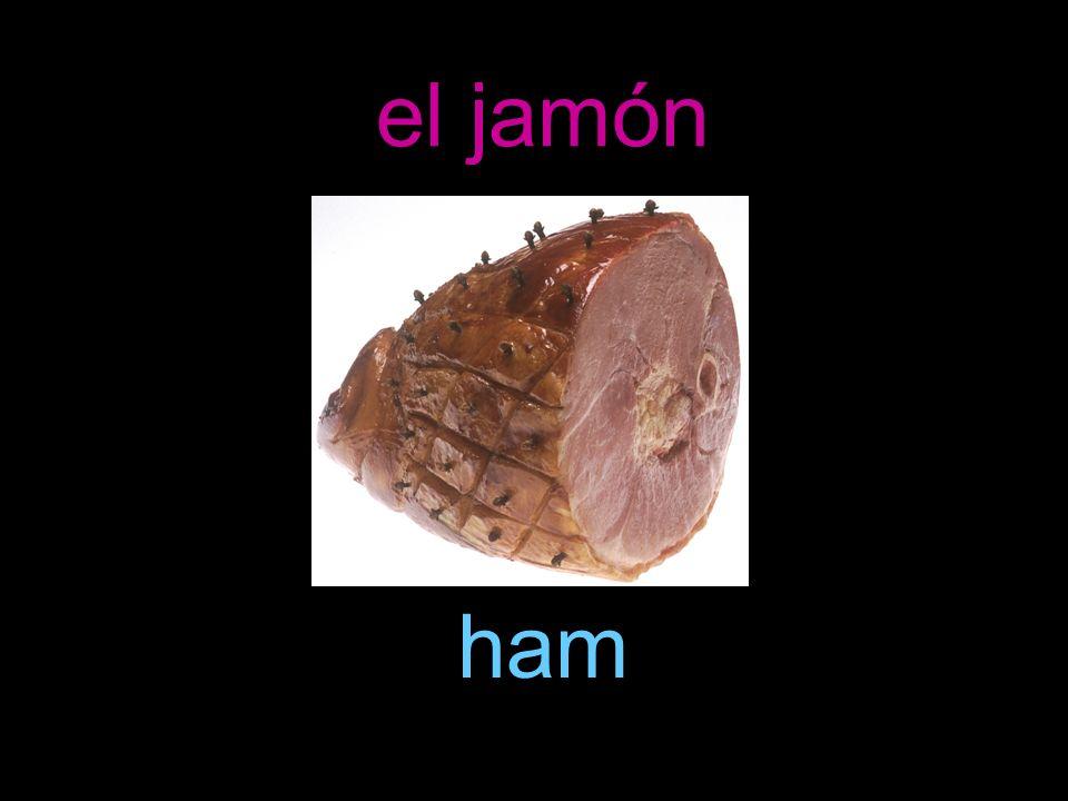 el jamón ham