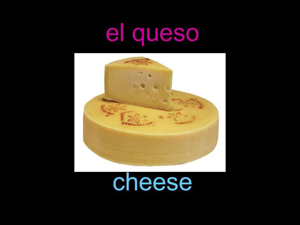 el queso cheese