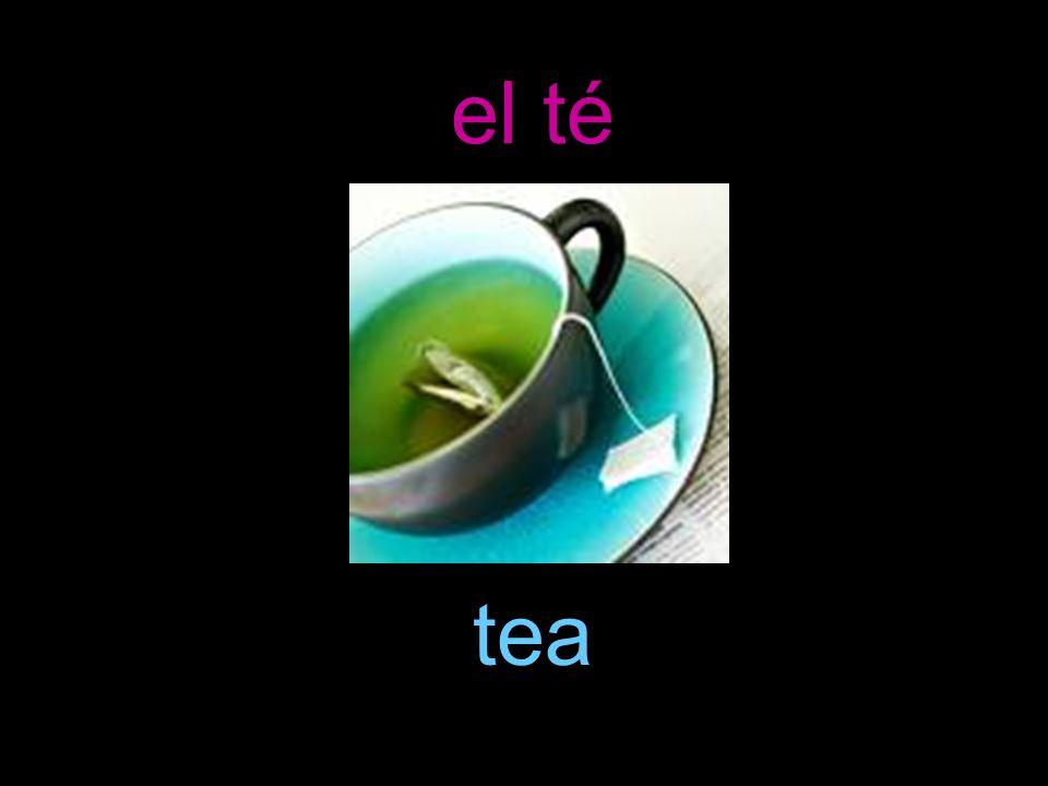 el té tea