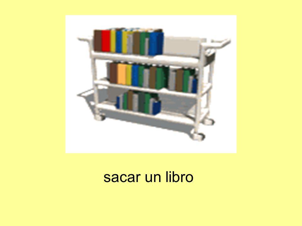 sacar un libro
