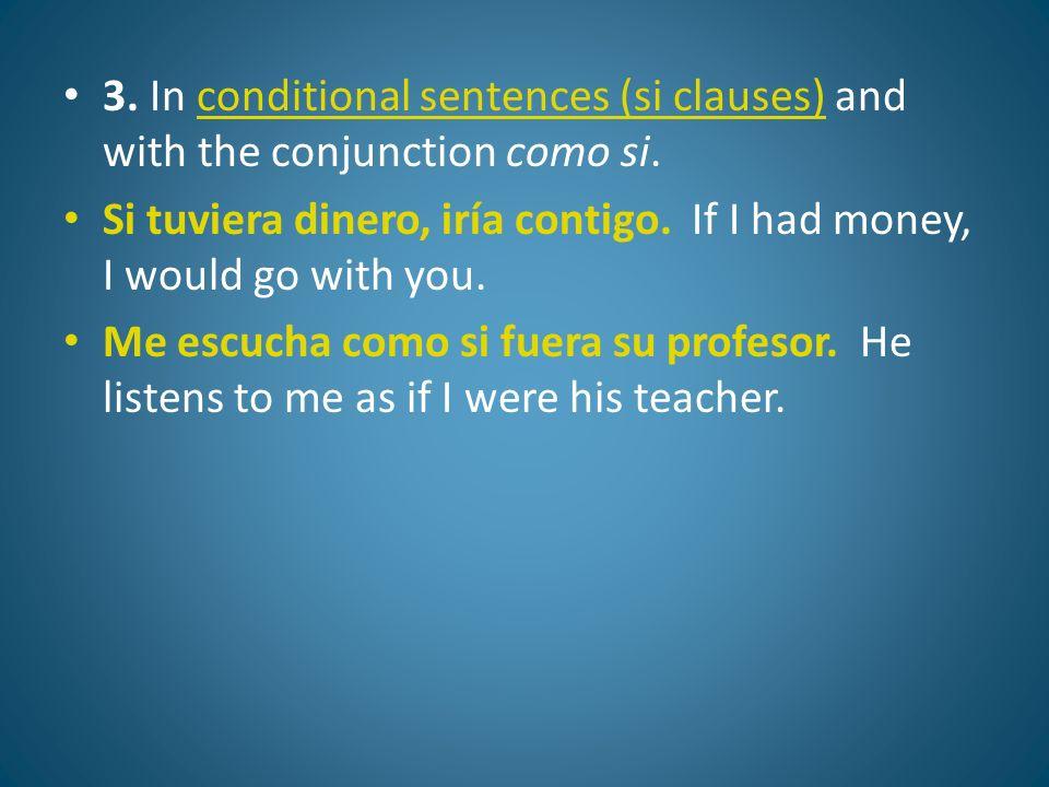 El pluscuamperfecto del subjuntivo Formación: Haber+participio pasivo (en el imperfecto subjuntivo) Hubiera Hubieras Hubiera Hubiéramos+ -ado, -ido Hubierais hubieran