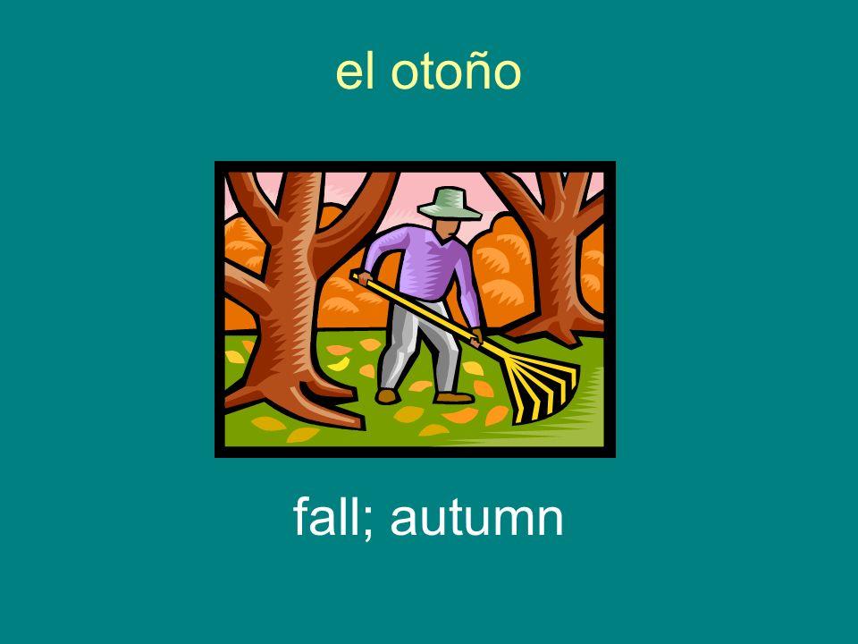 el otoño fall; autumn