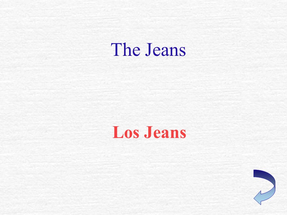 The Jeans Los Jeans