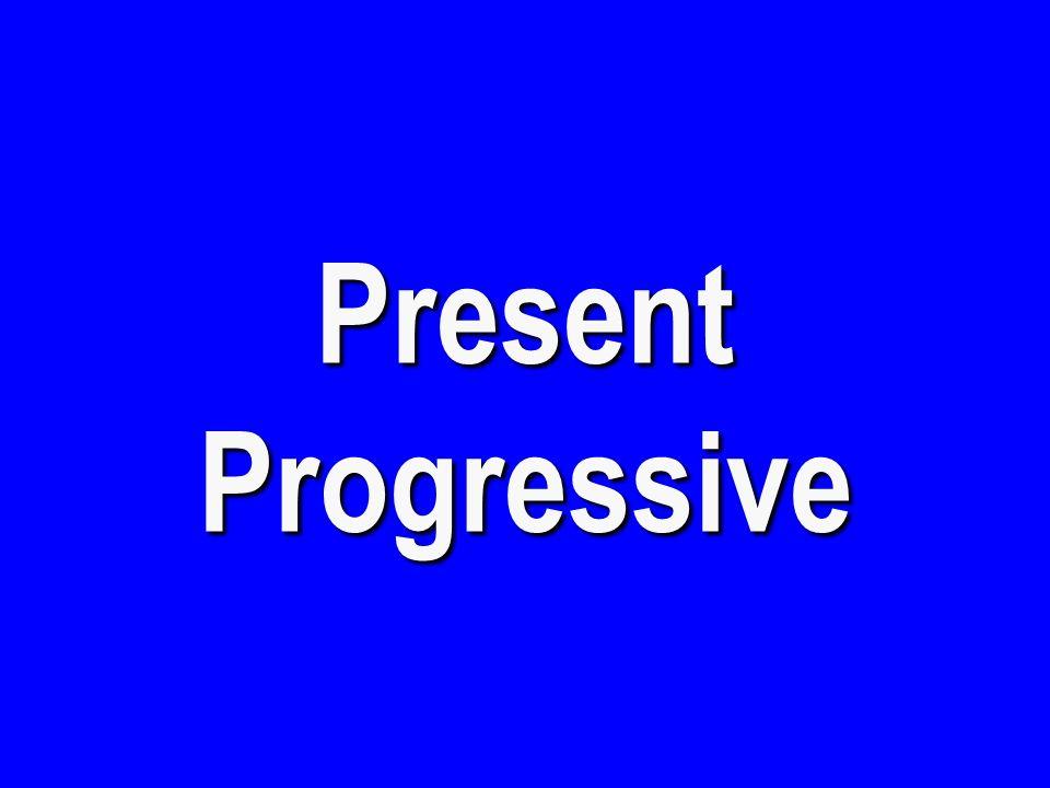 Present Progressive 1 - $300 I am having a picnic