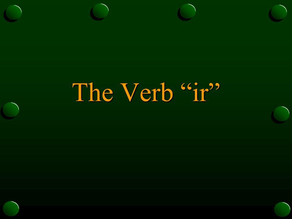 Ir + a + another verb = Yo voy a chocar.Tú vas a chocar.