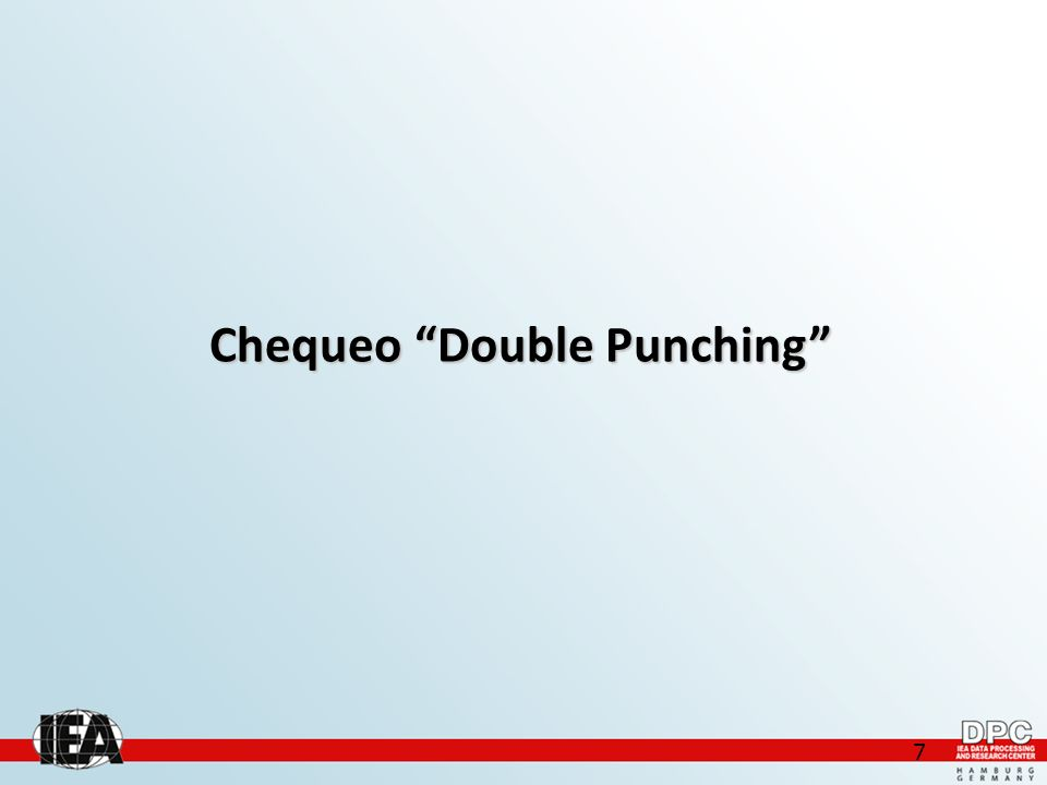 7 Chequeo Double Punching