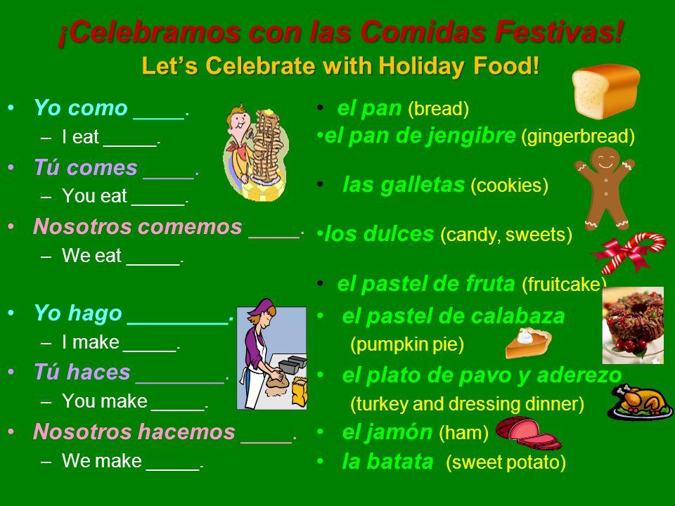 ¡Celebramos con las Bebidas Festivas.Lets Celebrate with Holiday Beverages.