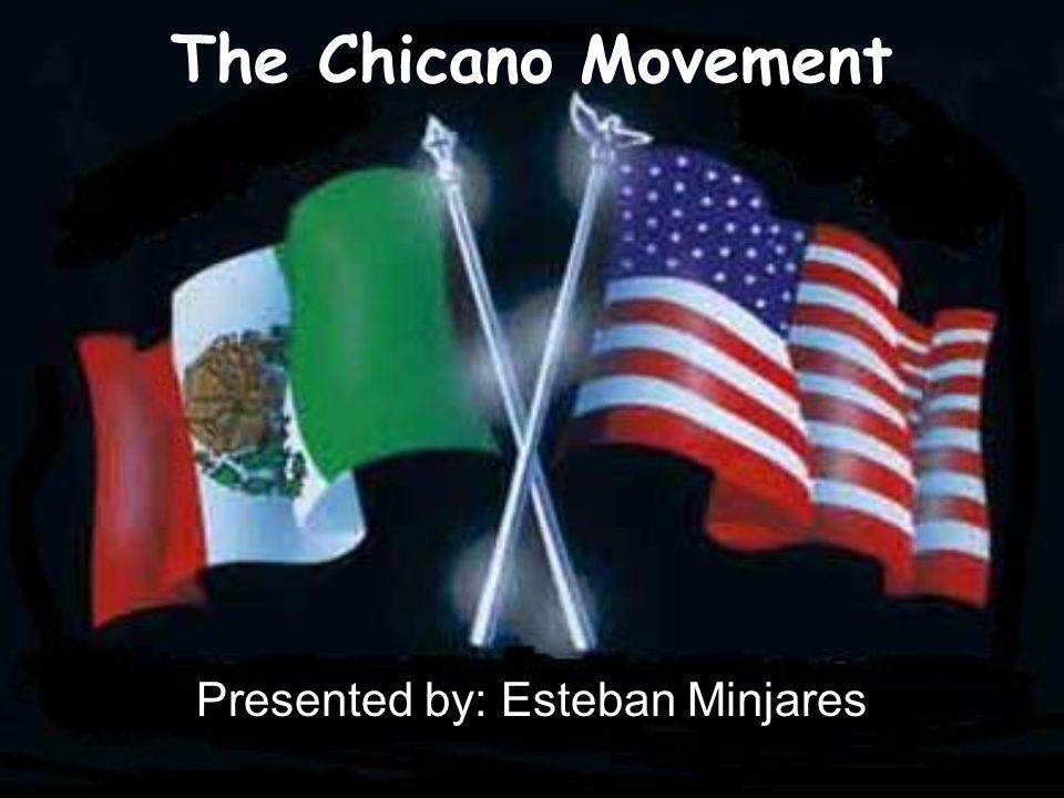 Que es un Chicano.Esta palabra era usada para describir a Mexicanos Americanos.