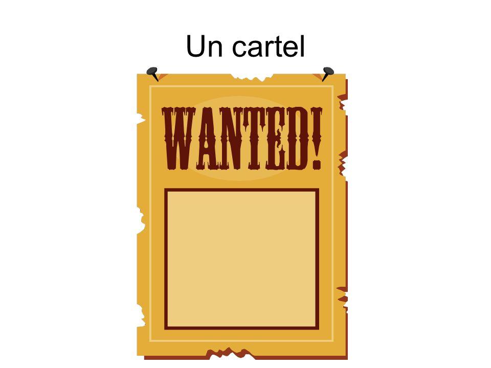 Un cartel