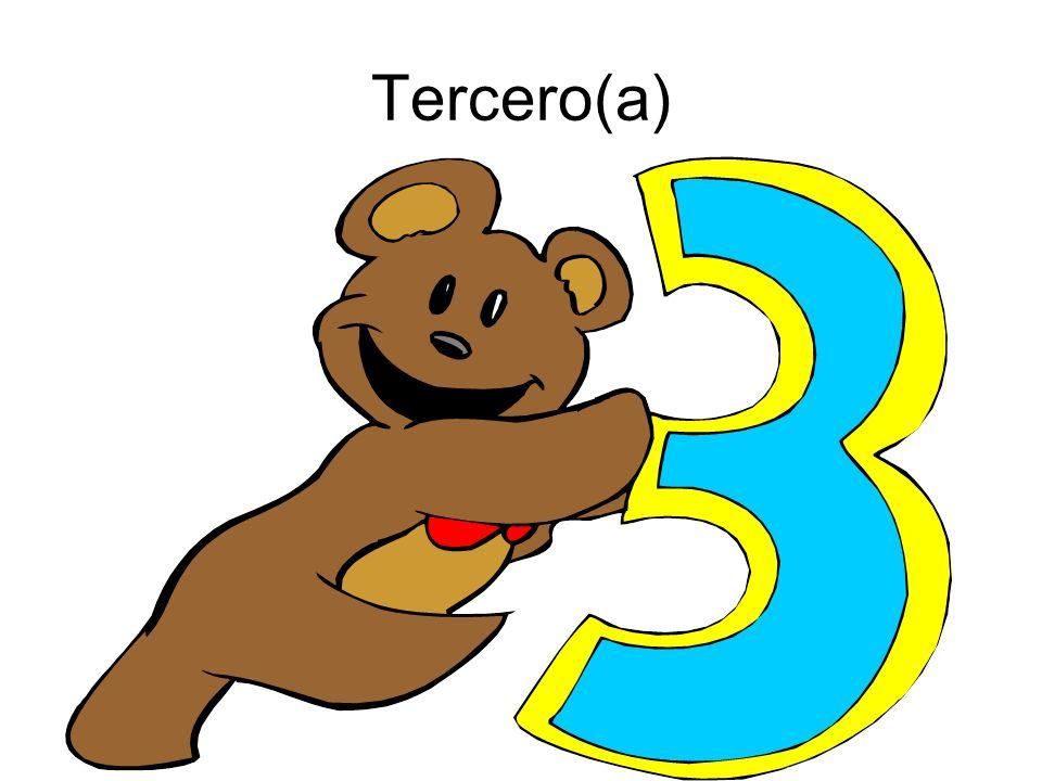 Tercero(a)
