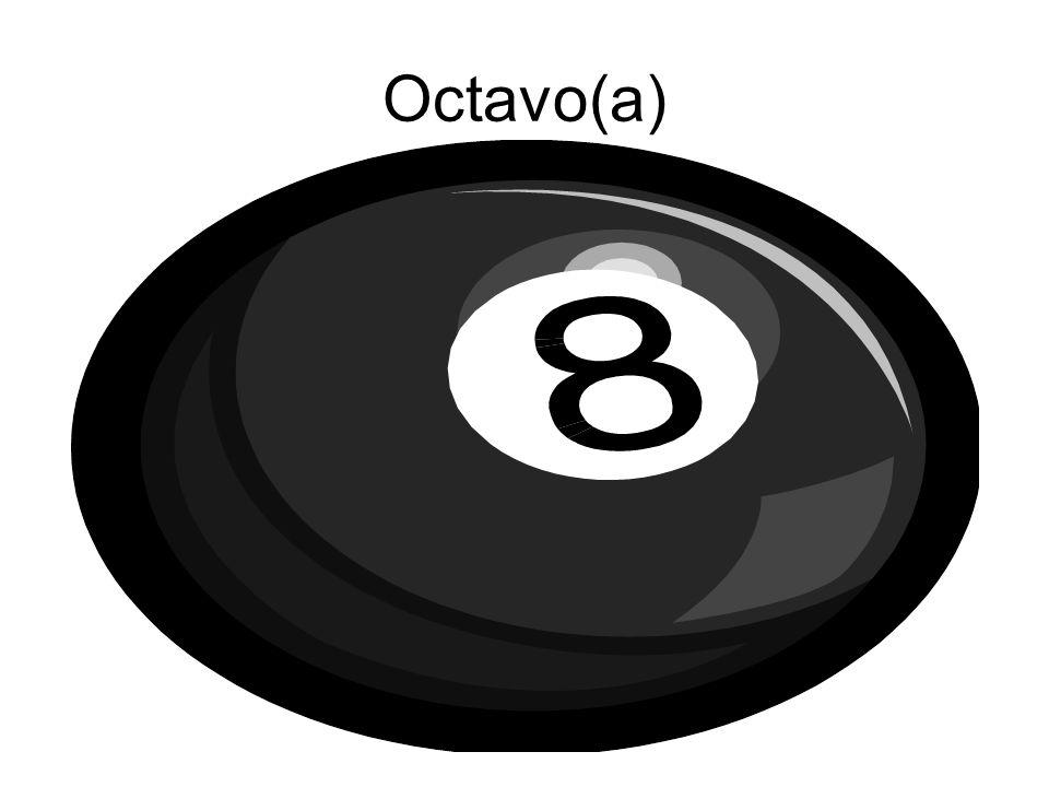 Octavo(a)