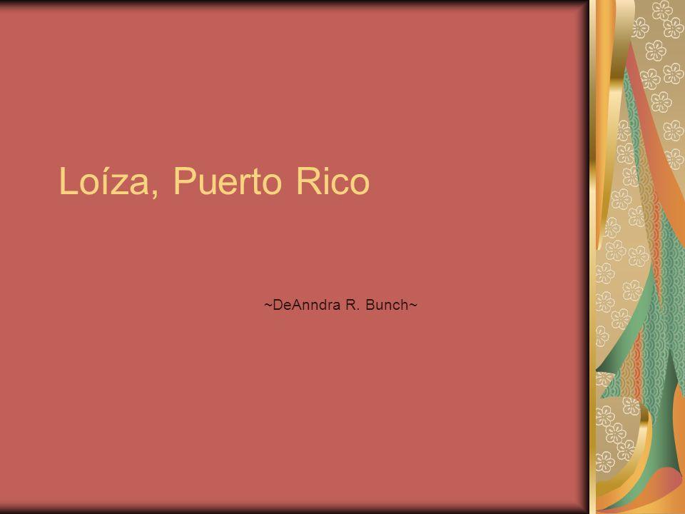 Introducción La Historia de Loíza es muy importante a mi porque es aparte de la cultura de mi familia y mi herencia.