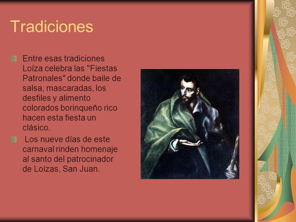 Tradiciones Entre esas tradiciones Loíza celebra las