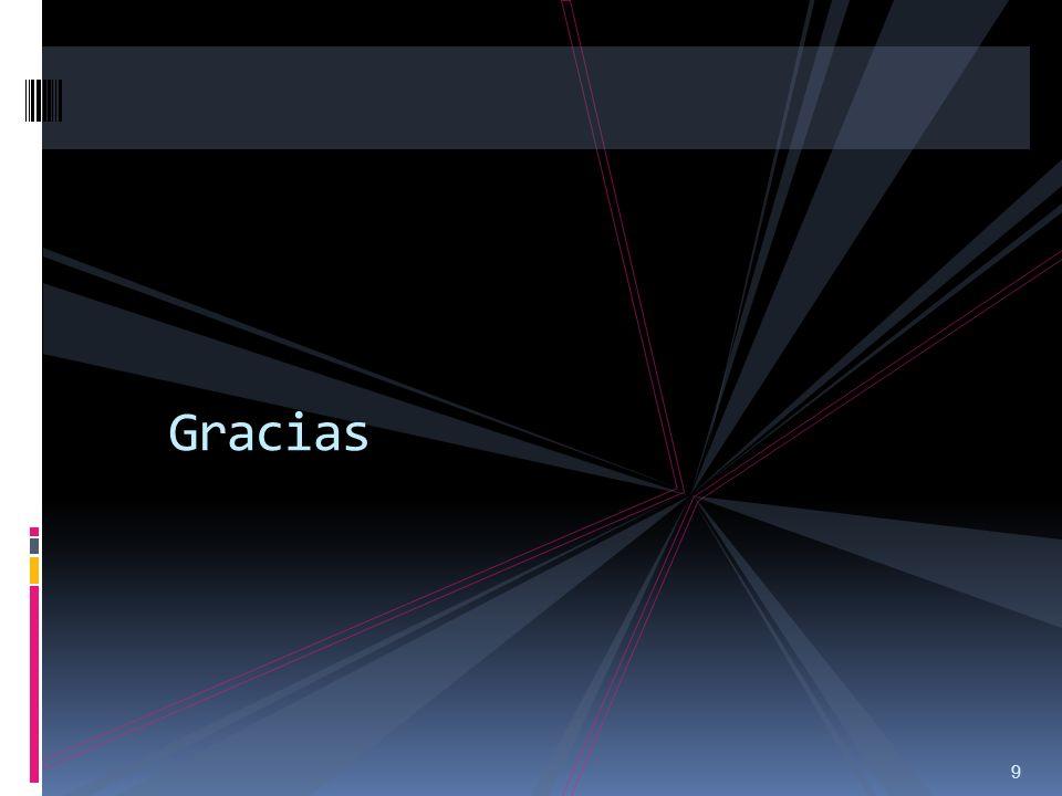 9 Gracias