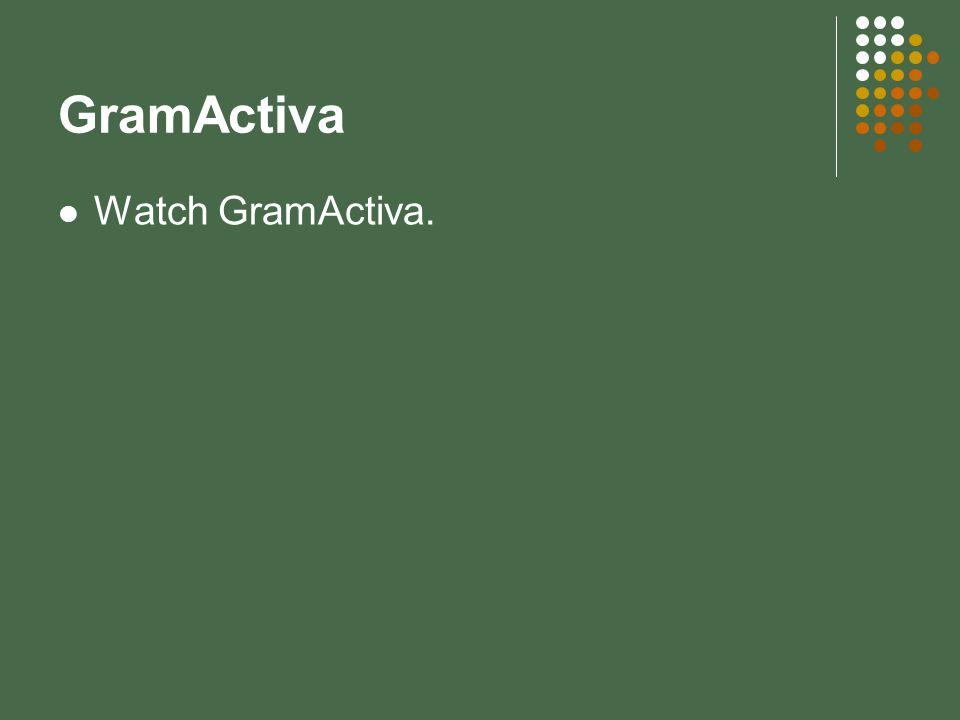 GramActiva Watch GramActiva.
