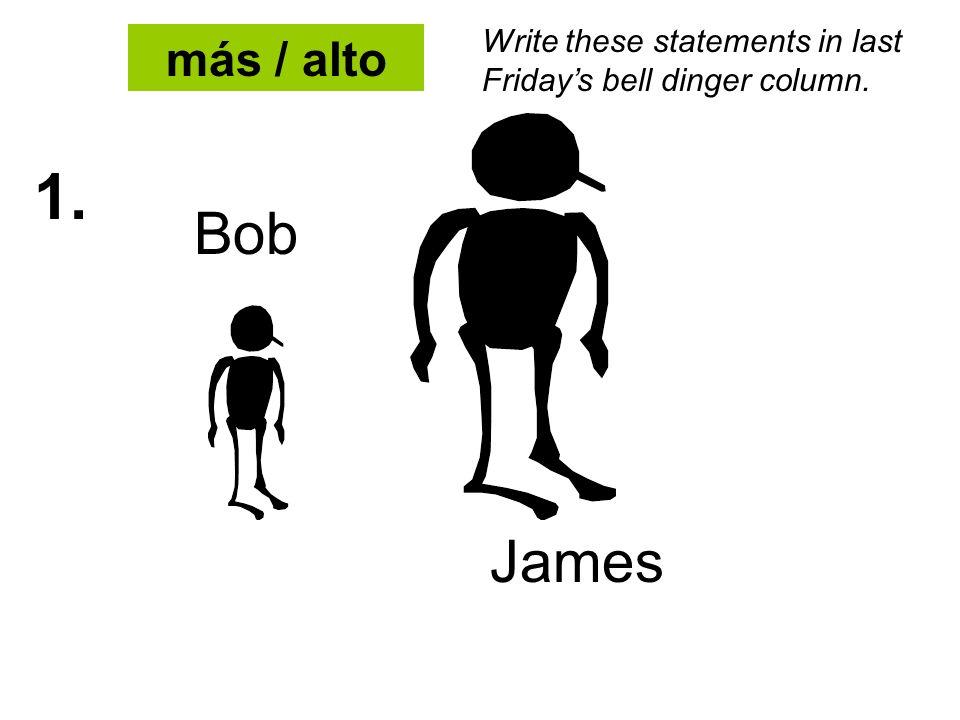2. menos / alto Bob James