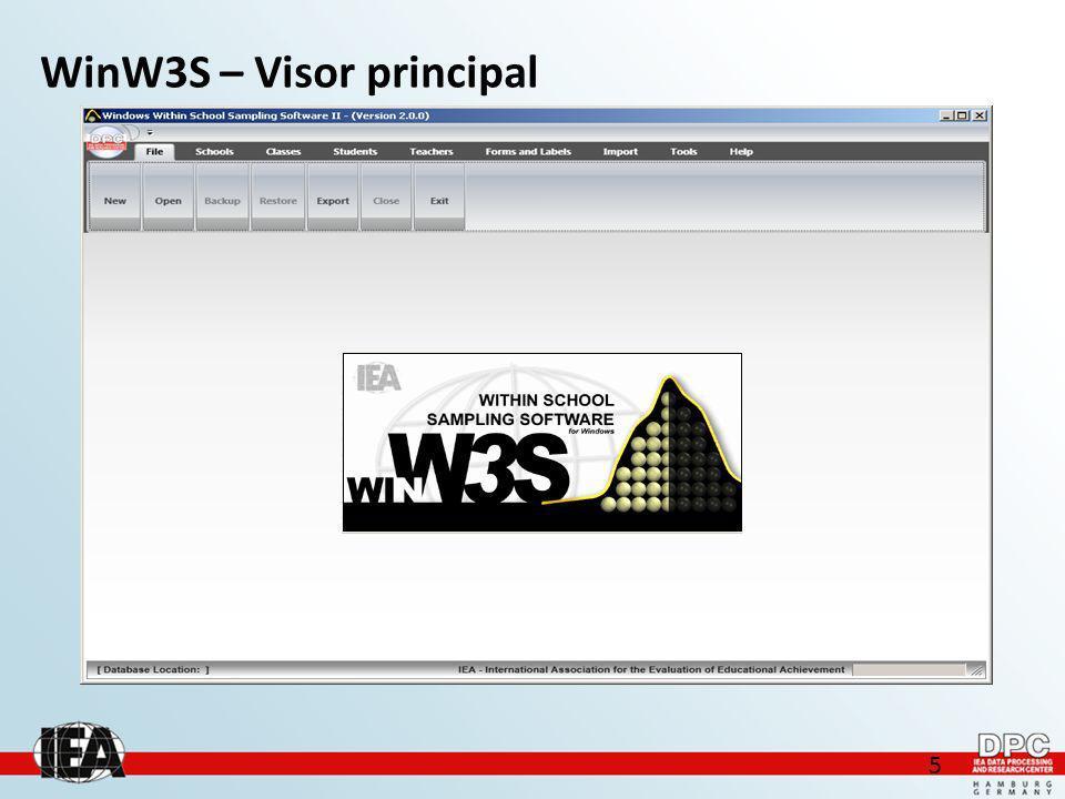 5 WinW3S – Visor principal