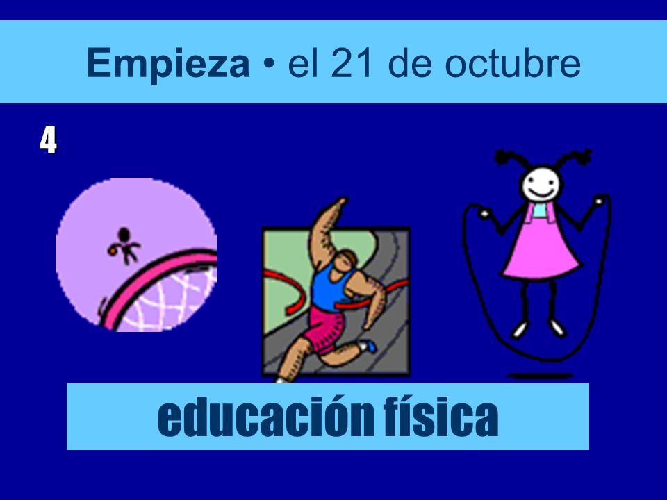Empieza el 21 de octubre 3 matemáticas