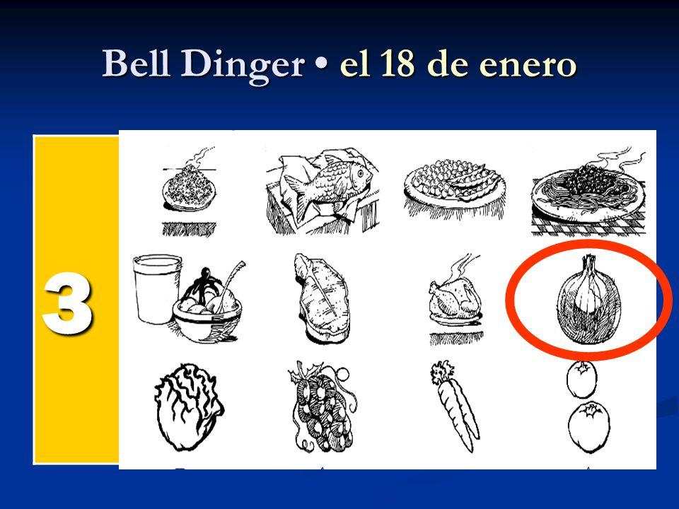 Bell Dinger el 18 de enero 3 el pollel pollel pollel poll el pesc ado el arroz