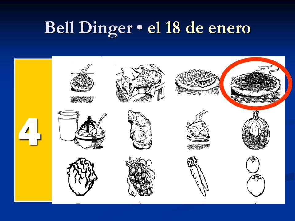Bell Dinger el 18 de enero 4 el pollel pollel pollel poll el pesc ado el arroz