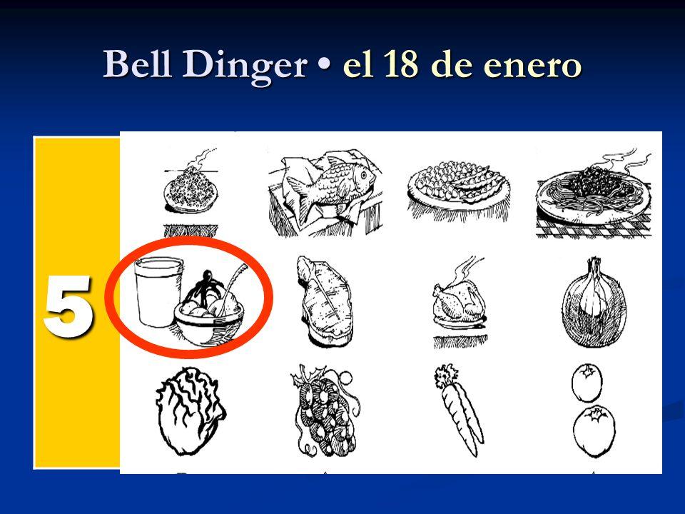 Bell Dinger el 18 de enero 5 el pollel pollel pollel poll el pesc ado el arroz